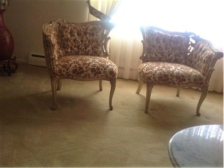 Formal Living Room Sofa and Chairs